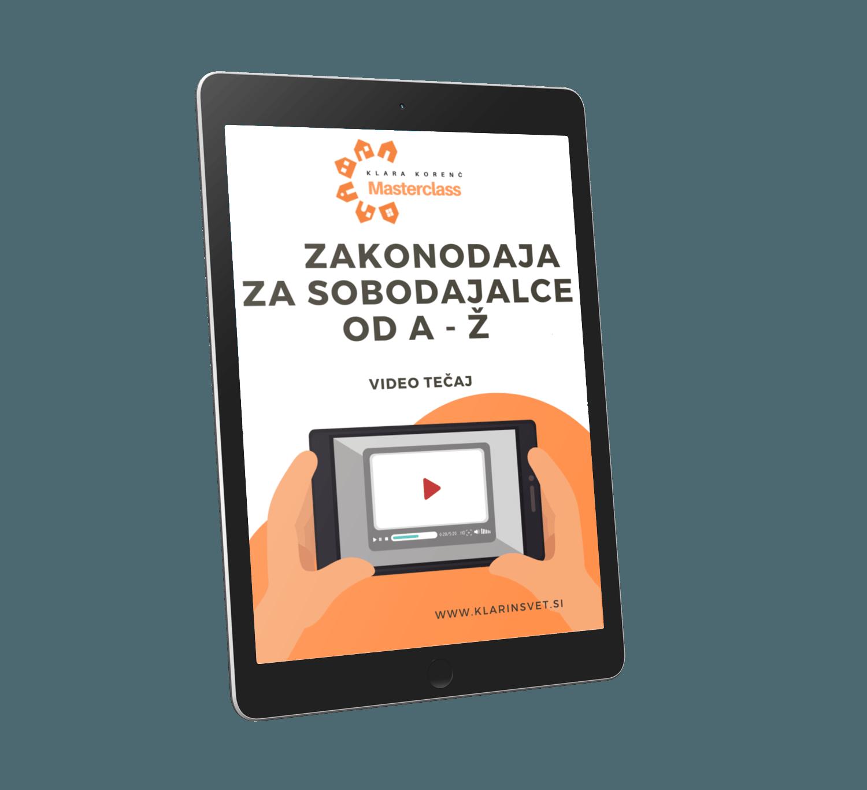 video tečaj Zakonodajal za sobodajalce od A - Ž