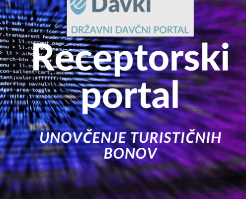 Receptorski sistem za testirenaje - unovčenje turističnih bonov