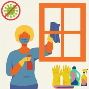 Smernice za čiščenje in razkuževanje nastanitvenih objektov