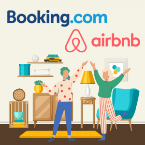 Airbnb in Booking.com poslovanje