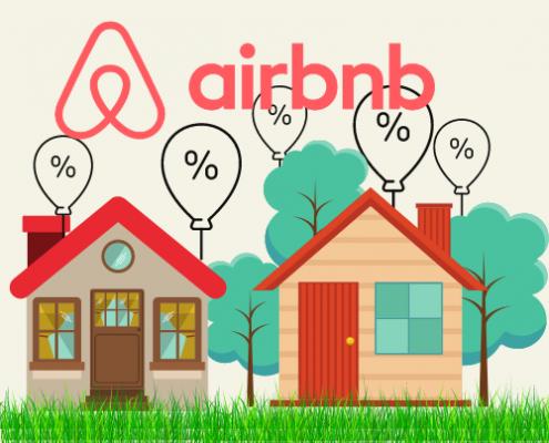 Airbnb provizija 15%