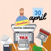 Podaljsan rok za oddajo davcnega obracuna